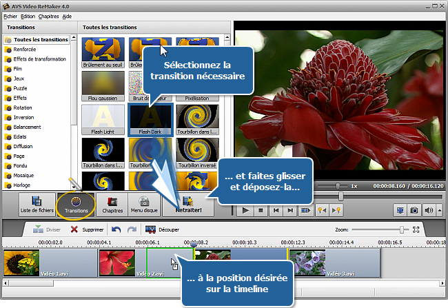 Comment fusionner plusieurs fichiers vidéo en un seul? Etape 4