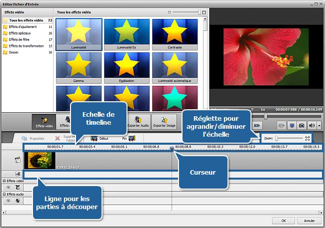 Comment supprimer une partie inutile d'un fichier vidéo et le convertir dans un autre format? Etape 3