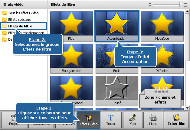 Comment nettoyer une vidéo floue en utilisant AVS Video Editor? Etape 1
