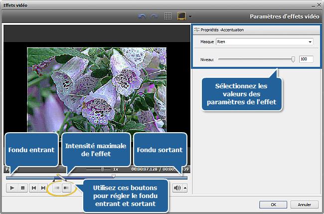 Comment nettoyer une vidéo floue en utilisant AVS Video Editor? Etape 3