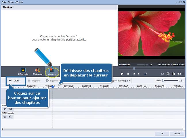 Comment graver une vidéo sur un disque DVD? Etape 5