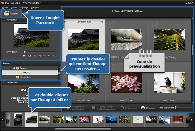 Comment cloner une partie de l'image en utilisant l'outil Retouche? Etape 2