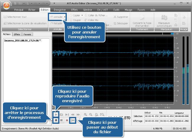 Comment enregistrer de l'audio avec un microphone? Etape 4