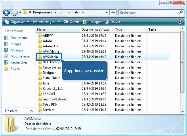 Comment réinstaller les logiciels AVS4YOU? Etape 3