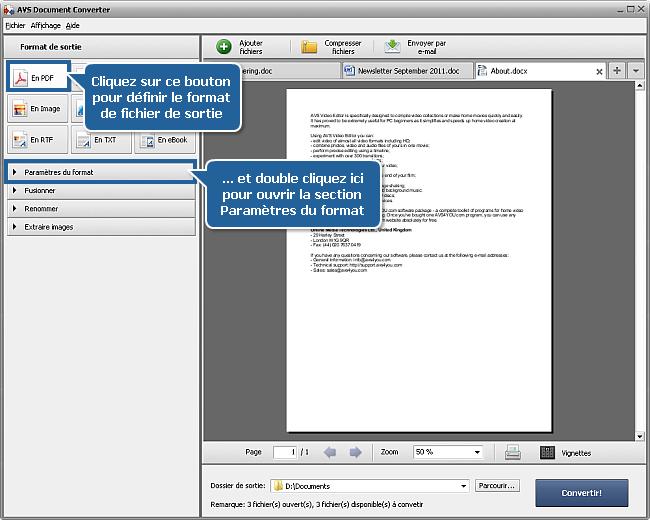 comment convertir les fichiers doc  docx dans le format pdf