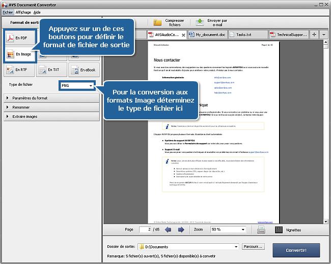 Comment ajouter un watermark aux documents? Etape 3