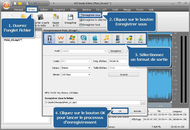 Comment créer une sonnerie avec AVS Audio Editor? Etape 5