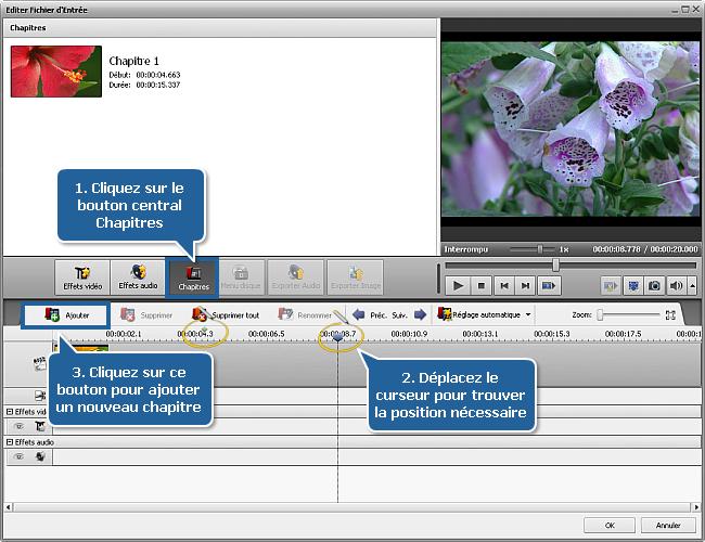 Comment exporter une image à partir d'un fichier vidéo? Etape 6