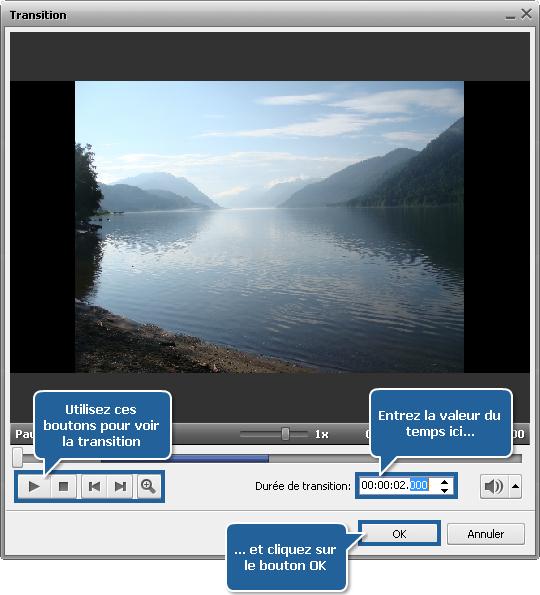 Comment créer un diaporama en utilisant AVS Video Editor? Etape 2
