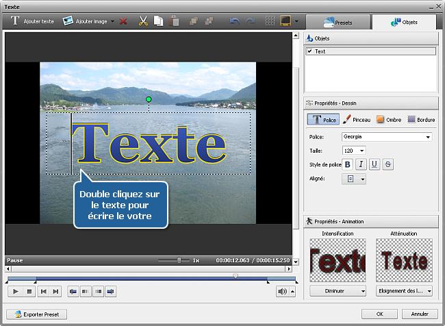 Comment créer un diaporama en utilisant AVS Video Editor? Etape 3