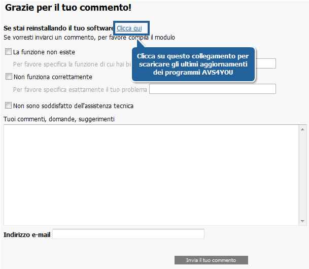 Come disinstallare i software AVS4YOU? Passo 4