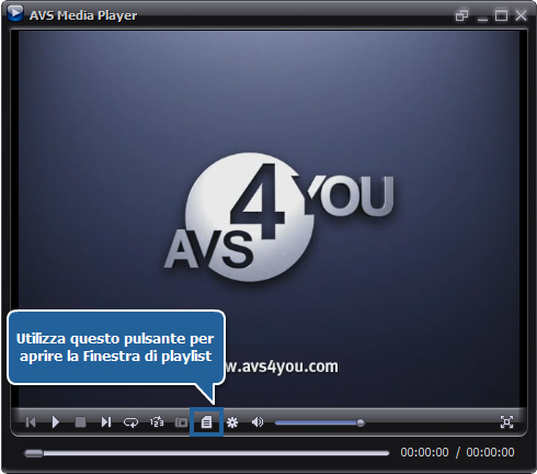 Come riprodurre file video utilizzando AVS Media Player? Passo 3