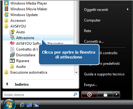 Come attivare i software AVS4YOU? Passo 4