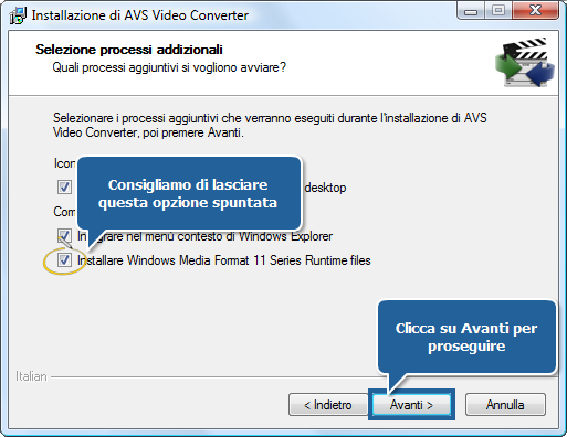 Come scaricare ed installare i software AVS4YOU sul PC? Passo 2