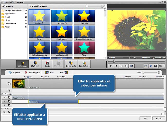 Come applicare un effetto al tuo video e convertirlo in un altro formato? Passo 5