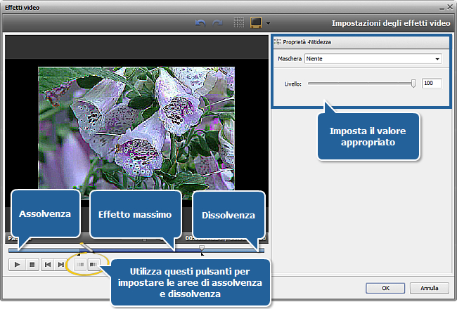 Come restaurare il video sfocato usando AVS Video Editor? Passo 3