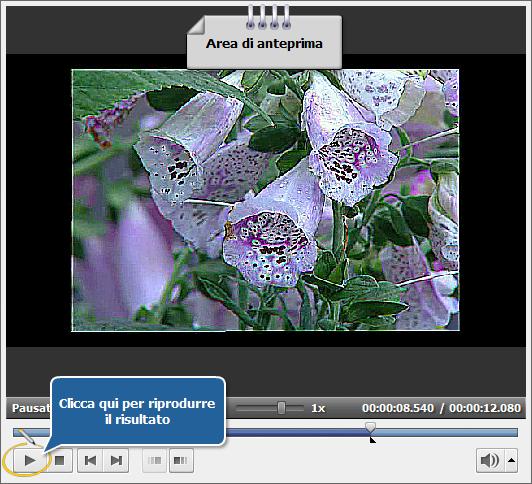 Come rimuovere gli artefatti dovuti all'interlacciamento usando AVS Video Editor? Passo 4