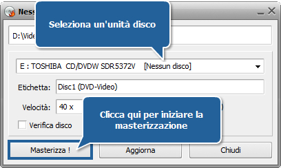 Come convertire file AVI in DVD? Passo 8