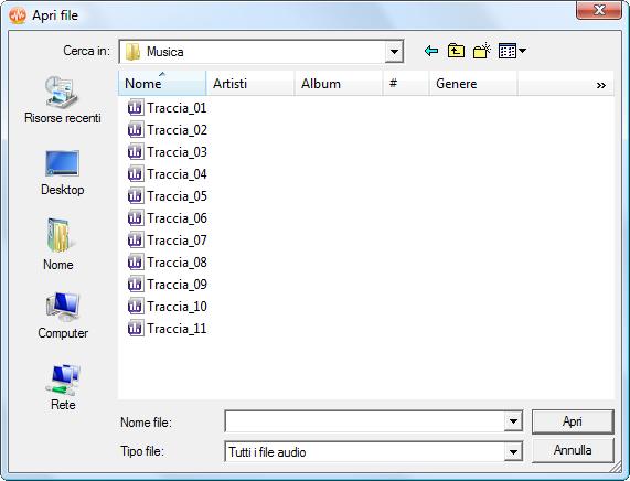 Come normalizzare il volume di una serie di tracce audio? Passo 2