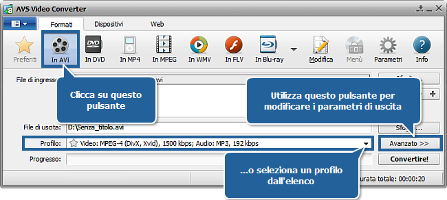 Come creare un CD compatibile in formato MPEG-4 (DivX o Xvid). Passo 3