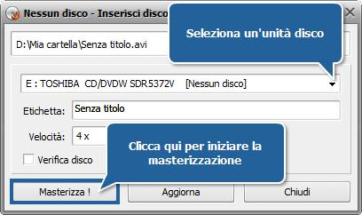 Come creare un CD compatibile in formato MPEG-4 (DivX o Xvid)? Passo 6