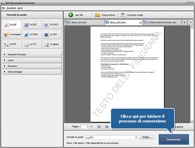 Come convertire i file DOC/DOCX in formato PDF? Passo 8