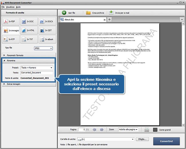 Come aggiungere una filigrana ai tuoi documenti? Passo 5