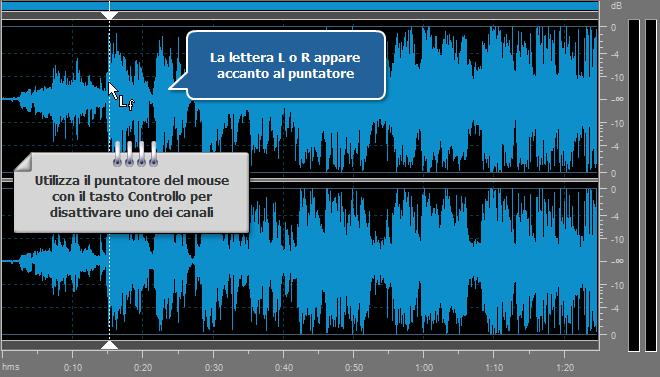 Come elaborare i canali individuali con AVS Audio Editor? Passo 3