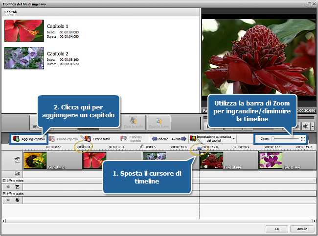 Come convertire file AVI in DVD? Passo 5
