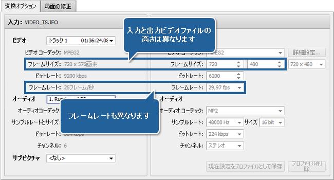 PAL から NTSC カラーシステムに変換する方法。ステップ 3