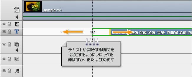 ホームビデオの終りにクレジットを追加する方法。ステップ 2