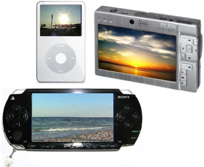 Как конвертировать видео для других портативных видеоплееров? Устройства